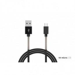 Cable aluminio micro USB -...