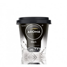 Aroma Car - Car Cup Gel Black