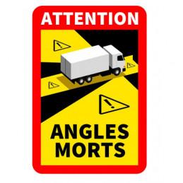 "Pegatina ""Attention Angle..."